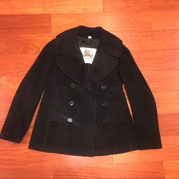Burberry Jackets & Blazers - Burberry Pea Coat